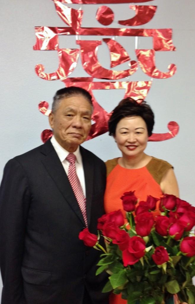 Paul and Lisa Lin 34th Anniversary