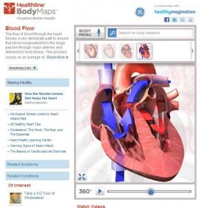 Health Line Body Maps