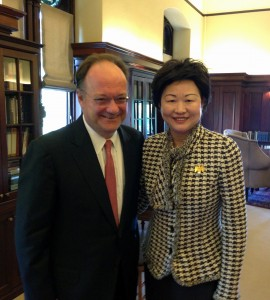 Dr. John J. DeGioia President of Georgetown University - small